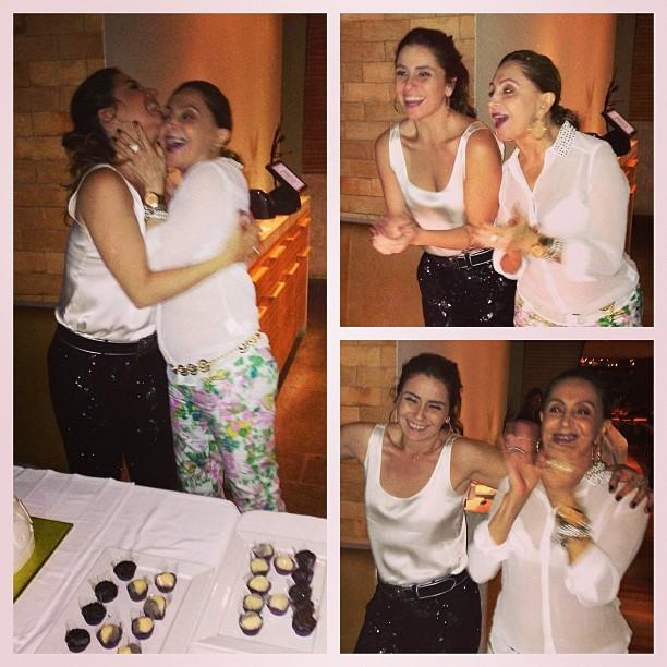 Giovanna Antonelli e a mãe, Suelly (Foto: Instagram/ Reprodução)