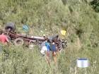 Motorista de caminhão morre após acidente em Queluz, SP