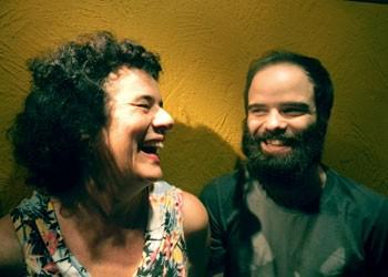 Rosy e Caio no Espaço Sergio Porto (Foto:  Patrick Sampaio)