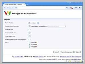 Google Wave Notifier 2.2
