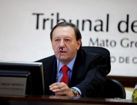 José Carlos Novelli, conselheiro afastado do Tribunal de Contas do Mato Grosso (Foto: TCE-MT)