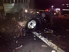 Quatro pessoas morrem em batida entre dois caminhões na BR- 365