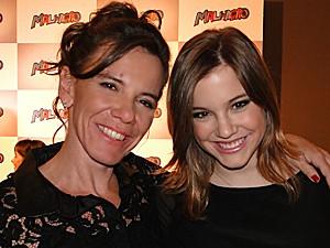 Adriana acompanhou a filha desde o início (Foto: Malhação / TV Globo)