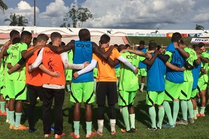 Sinop, treinos (Foto: Julio Tabile/Sinop FC)