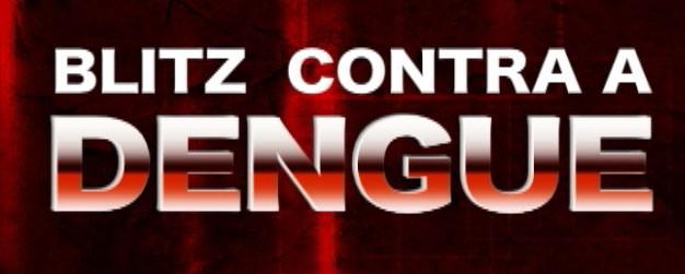 Blitz contra a dengue (Foto: logomarca)
