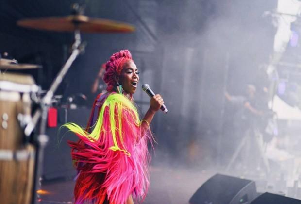 Karol Conka se apresentou no Lollapalooza, que aconteceu no dia 13 de março (Foto: Reprodução/Instagram/Hannah Bauhofer)