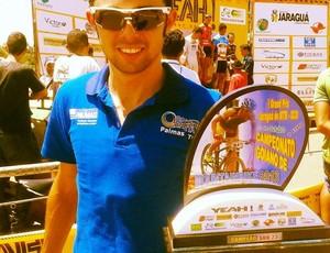 Atleta de Palmas chega em primeiro no GP de mountain bike (Foto: Divulgação/Fundesportes)