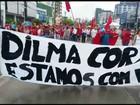 Manifestações em todo o país marcam o Dia do Trabalho