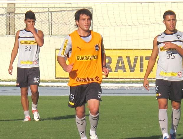 lodeiro, treino do Botafogo (Foto: Thales Soares / Globoesporte.com)