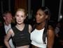 Serena Williams deixa barriga à mostra e Iggy Azalea usa look justo em festa
