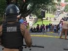 PM reforça segurança na área da PF de Curitiba onde Lula está preso