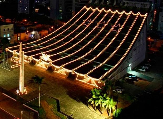 Catedral Metropolitana de Natal fica no Centro da cidade (Foto: Canindé Soares/G1)