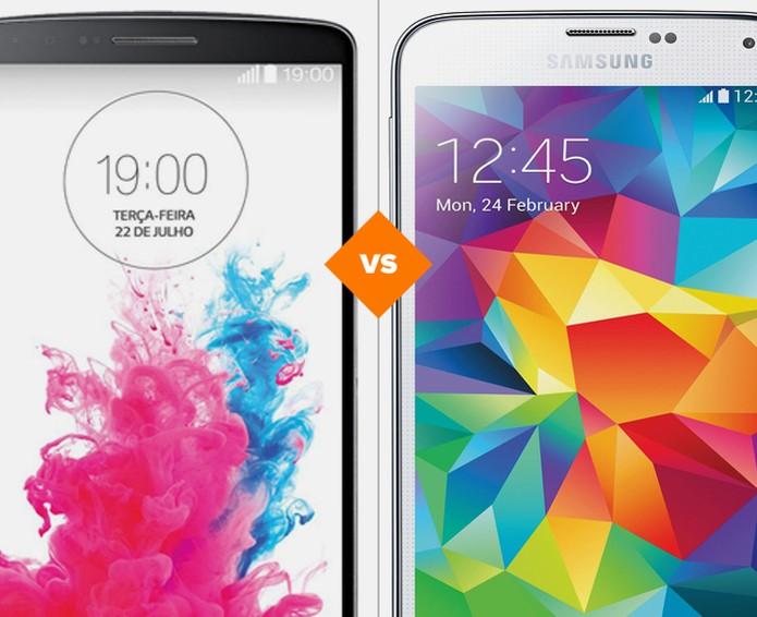 b3864a20c6b LG G3 ou Galaxy S5: qual top antigo vale mais a pena atualmente ...