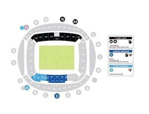 ABC x Atlético-GO mapa ingressos (Foto: Reprodução)