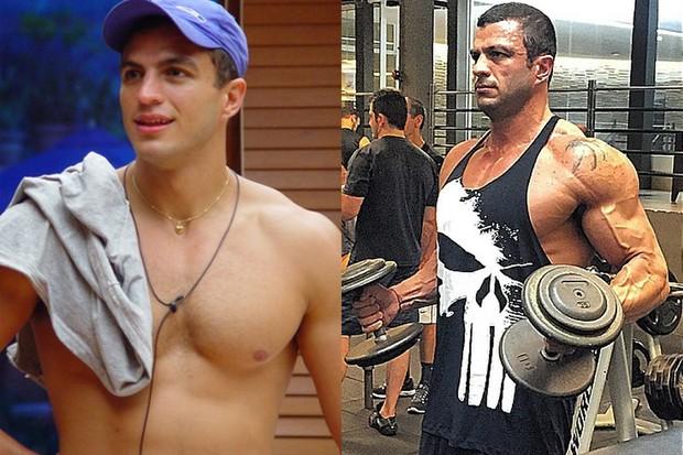 Bambam antes e depois (Foto: Globo / Instagram )