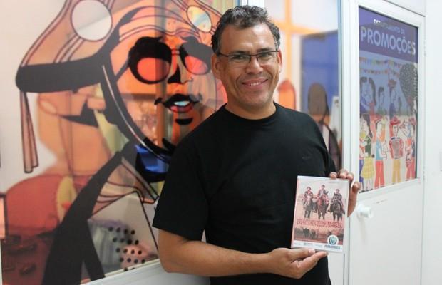 Luciano Peixinho participa do Festival com o filme 'Vida de Vaqueiro' (Foto: Gabriela Canário)