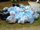 Mutirão tira cerca de 200 kg de lixo de Parque Ecológico em Cubatão, SP