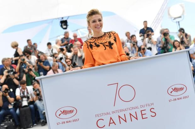 Jasmine Trinca no Festival de Cannes (Foto: Pascal Le Segretain/Getty Images)