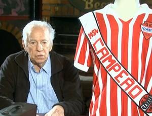 Valdir de Moares, ex-goleiro do Renner em 1954 (Foto: Reprodução/ SporTV)