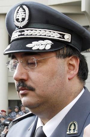 O general Wissam al-Hassan em 29 de janeiro de 2008 (Foto: AFP)