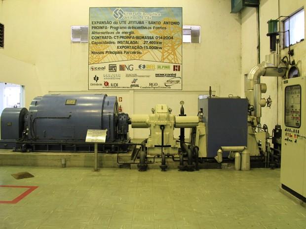 Gerador de energia  (Foto: Waldson Costa/G1)