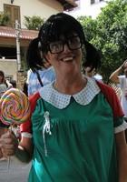 Veja fotos da terça-feira de carnaval  (Sara Antunes / G1)