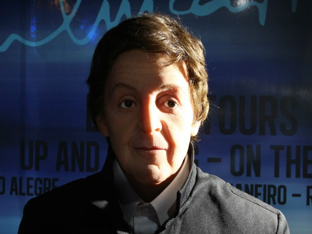 Paul McCartney (Foto: Divulga&#231;&#227;o/ Dreamland - Museu de Cera)