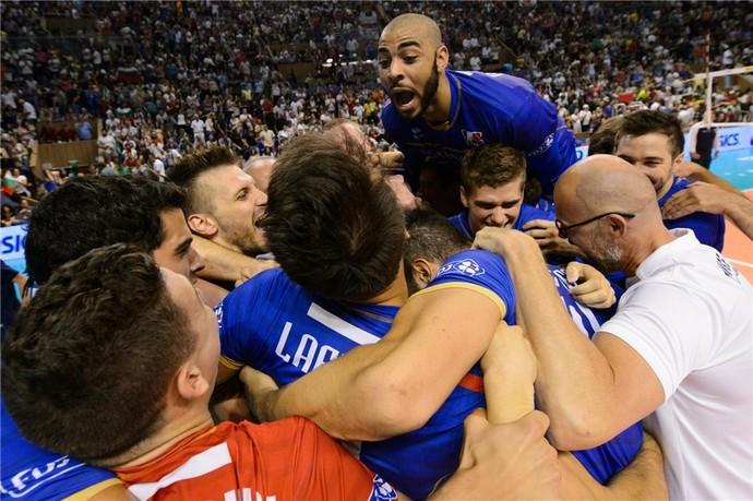 França campeã segunda divisão liga mundial vôlei (Foto: Divulgação / FIVB)