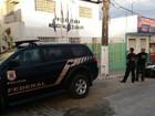 Operação da Polícia Federal cumpre mandados em Maceió e no interior