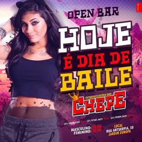 Cartaz de divulgação do show de MC Pocahontas em Belo Horizonte (Foto: Reprodução / Facebook)