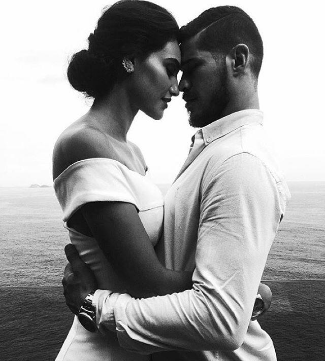 Débora Nascimento compartilha foto romântica com José Loreto e se declara