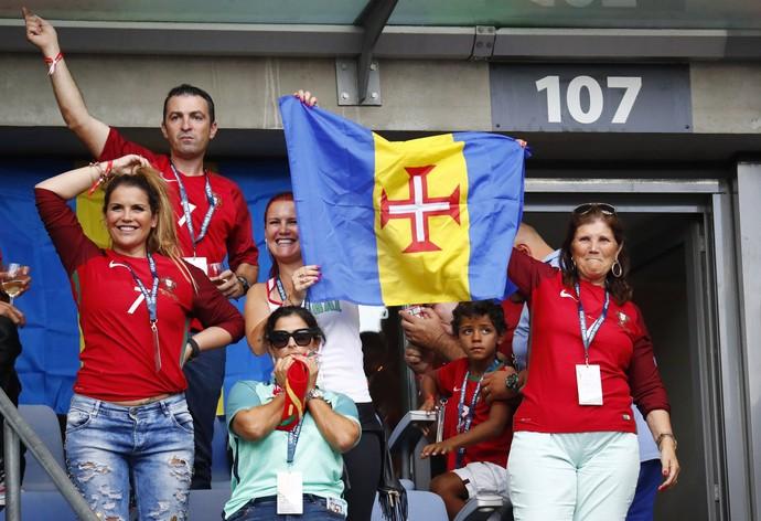 Familia Cristiano Ronaldo final Eurocopa (Foto: Reuters)