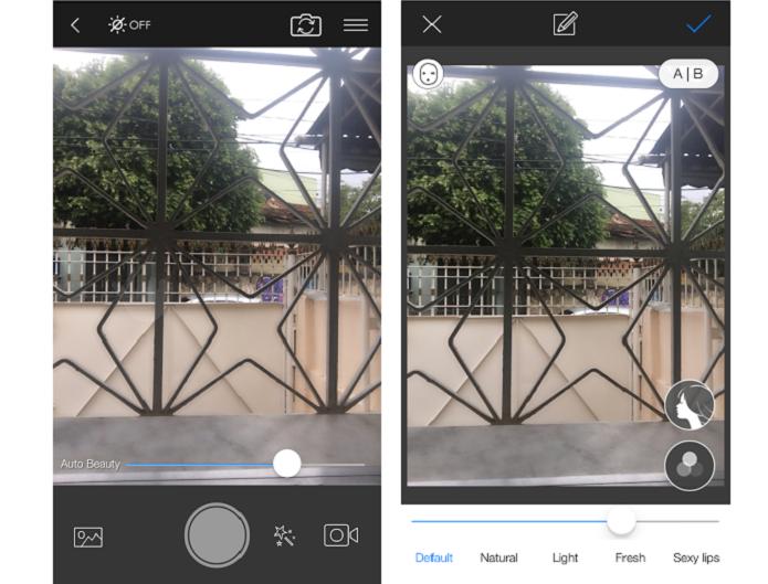 App também ajuda a fazer seflies melhores (Foto: Reprodução/Thiago Barros) (Foto: App também ajuda a fazer seflies melhores (Foto: Reprodução/Thiago Barros))