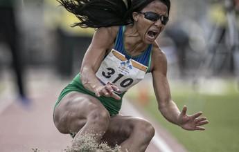 """Silvânia Costa bate recorde mundial do salto em distância: """"Dever cumprido"""""""
