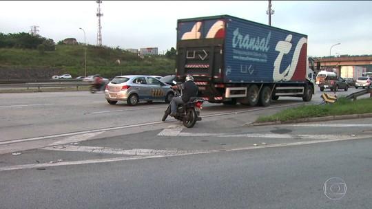 Trecho urbano da Castello Branco em SP teve 3 mil acidentes e 10 mortes em 2016