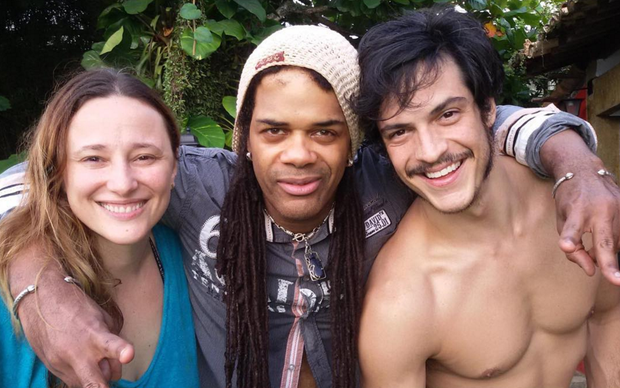 Paula Braun, Andru Donalds e Mateus Solano (Foto: Reprodução/Instagram)