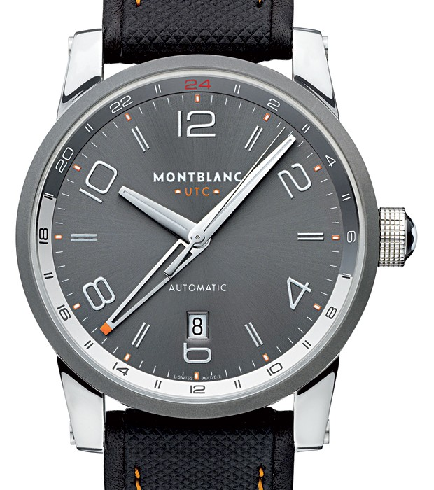 MONTBLANC TIMEWALKER VOYAGER UTC (Foto: Divulgação)
