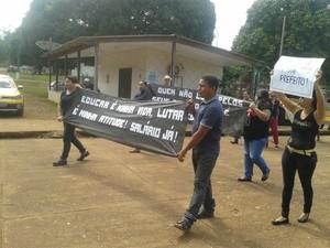 Movimento iniciado na quarta-feira (9) segue até a sexta-feira (11) (Foto: Lúcio Gonçalves/Arquivo Pessoal)