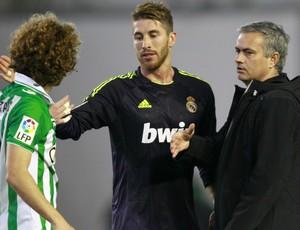 José Mourinho Real Madrid Bétis (Foto: Reuters)