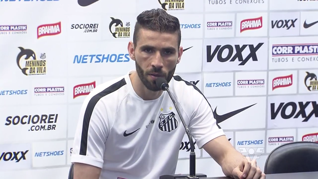 Vanderlei comenta a preparação da equipe santista (Foto: Reprodução/TV Tribuna)