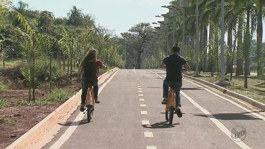Projeto com 30 bicicletas facilita percurso no maior campus da USP em Pirassununga