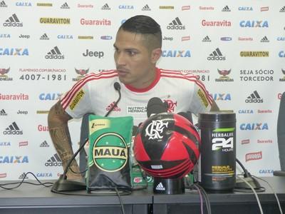 Guerrero Flamengo (Foto: Fred Gomes / GloboEsporte.com)