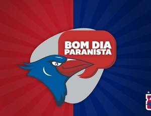 """Campanha """"bom dia paranista"""", do Paraná clube (Foto: Divulgação/Site oficial do Paraná Clube)"""