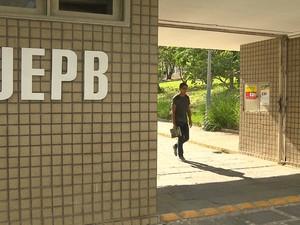 Universidade Estadual da Paraíba (UEPB) (Foto: Reprodução/ TV Paraíba)
