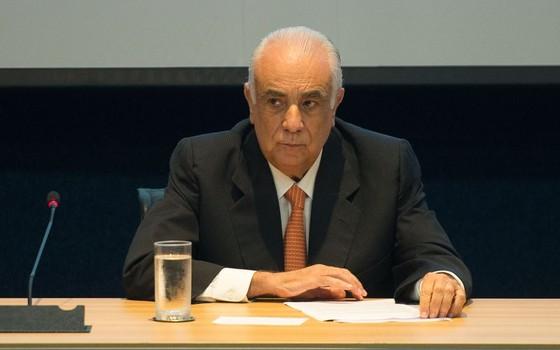 O ex-ministro dos Transportes no governo Dilma Antônio Rodrigues (Foto: Marcelo Camargo/Agência Brasil)