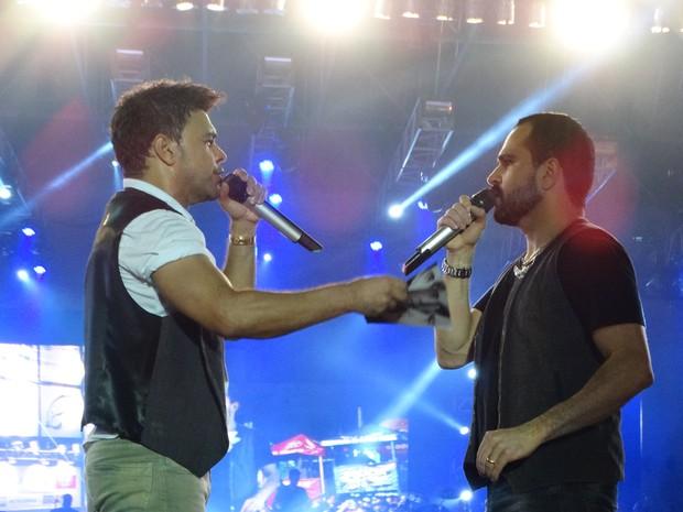 Zezé di Camargo & Luciano (Foto: André Hilton / TV Asa Branca)