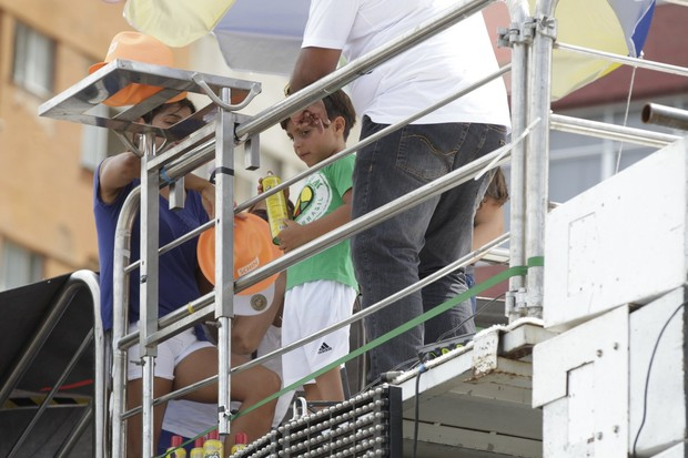 Filho de Ivete Sangalo  (Foto: Denilson Santos, Daniel Delmiro, JC Pereira, Raphael Castello, Wallace Barbosa e Wesley Costa/AgNews )