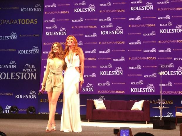 Nah Cardoso e Sabrina Sato (Foto: Barbara Vieira/EGO)