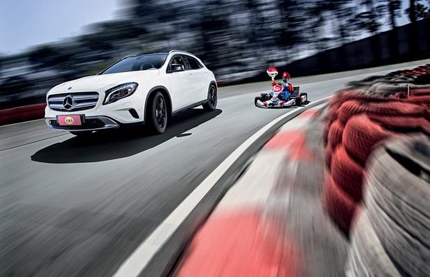 Mercedes-Benz GLA 200 (Foto: Fabio Aro / Autoesporte)