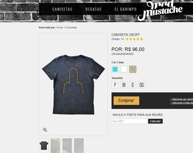 Camiseta de Thaila Ayala no Rock in Rio (Foto: Reprodução)